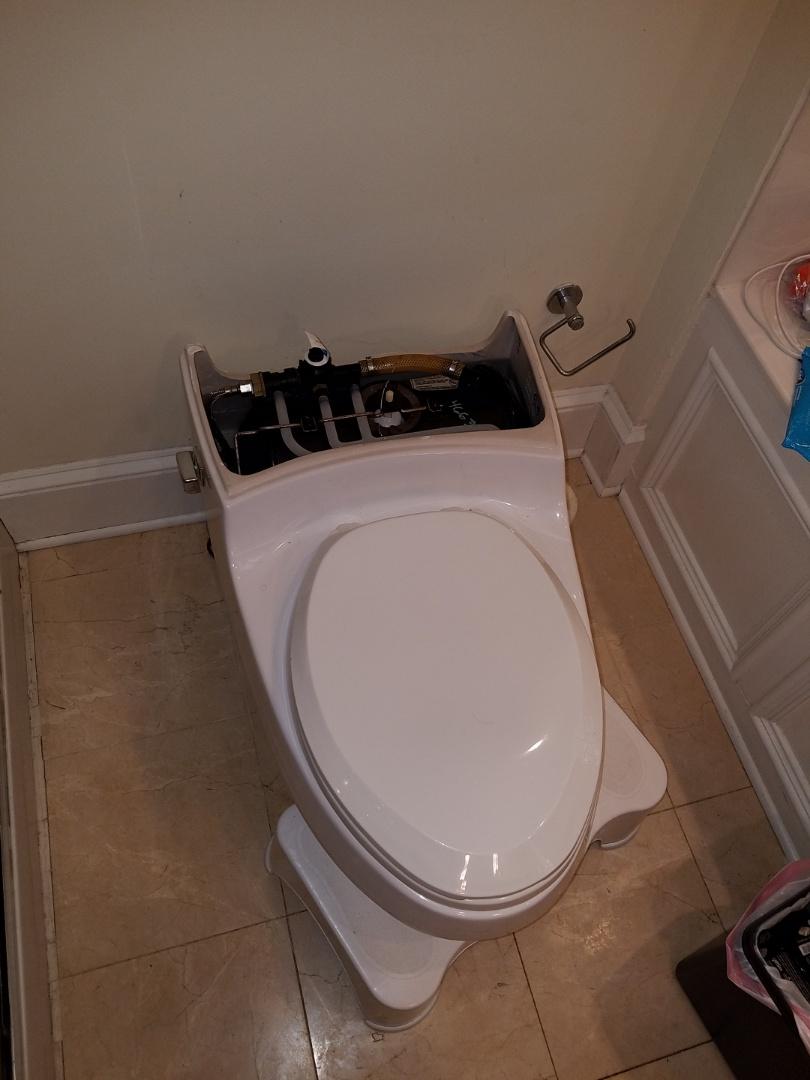 Atlanta, GA - Looked at replacing a toilet