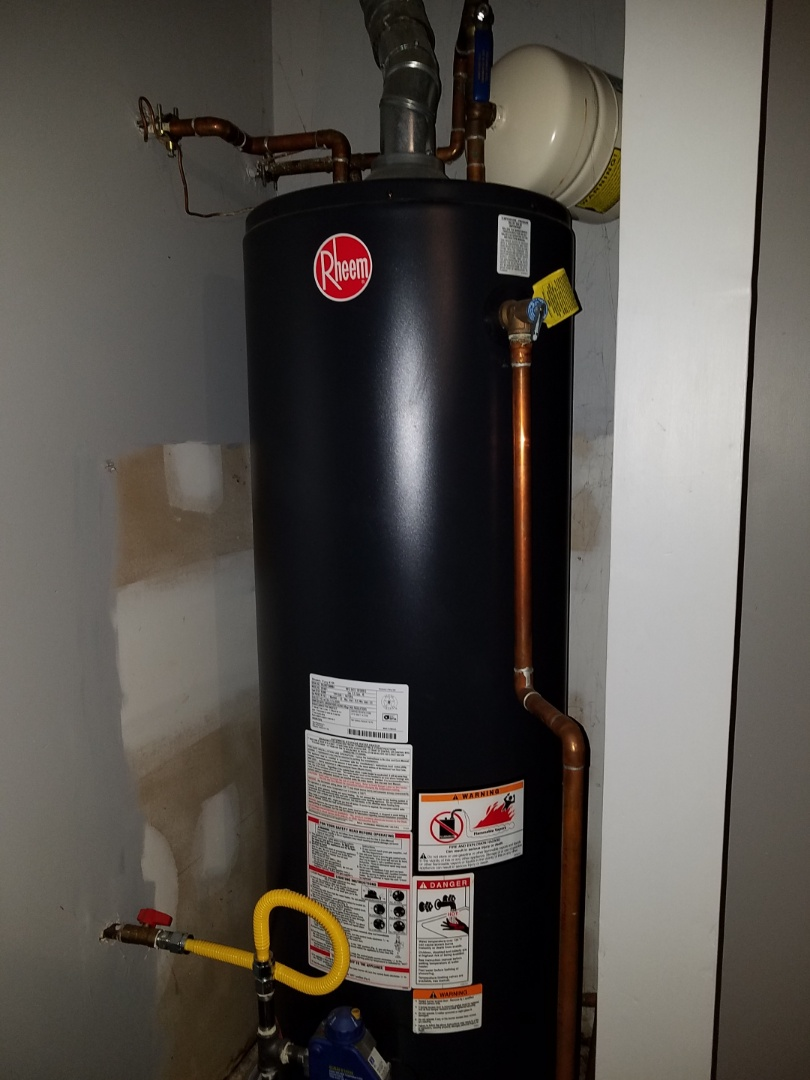 Marietta, GA - Checked a water heater that was not getting hot.