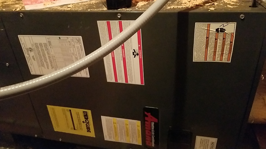 Canton, GA - Aux heat not coming on in airhandler