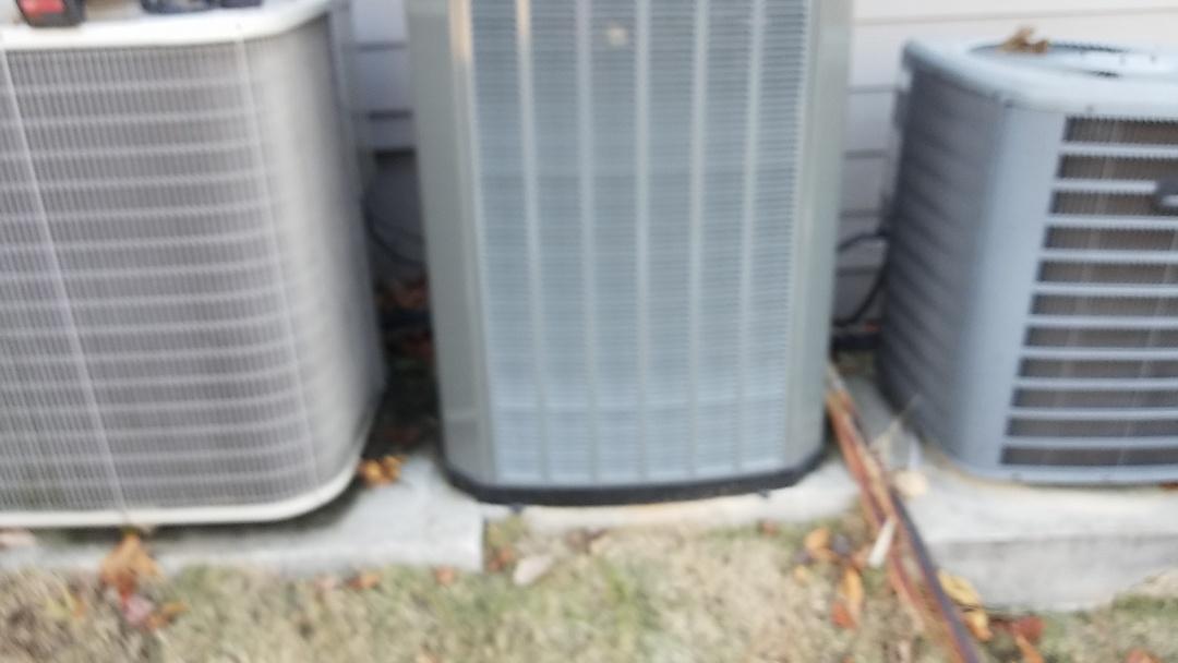 Douglasville, GA - Hvac preventative maintenance on three heat pump systems.