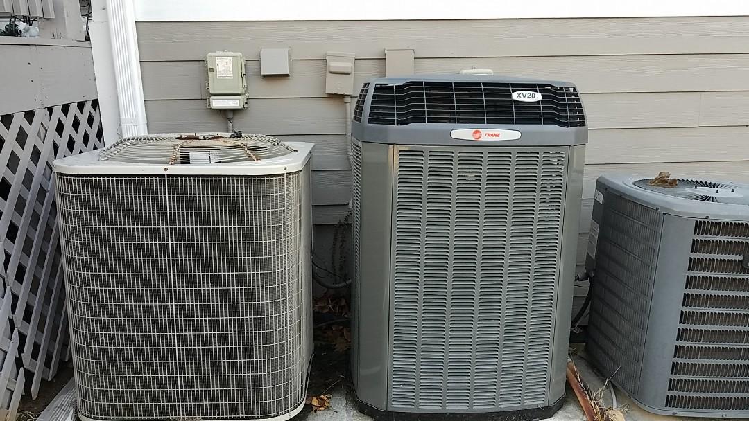 Douglasville, GA - Hvac preventative maintenance on three heat pumps.