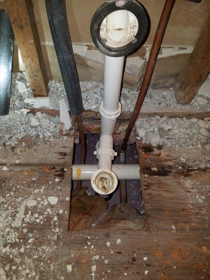 Atlanta, GA - Demoed some Plumbing for remodel job