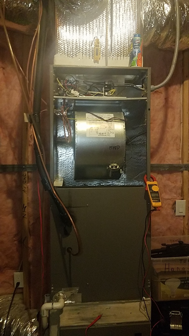 Canton, GA - Basic maintenance on a heat pump system for fall/ winter season