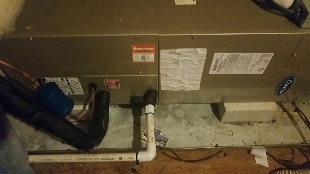 Cumming, GA - Preventative maintenance on heat pump