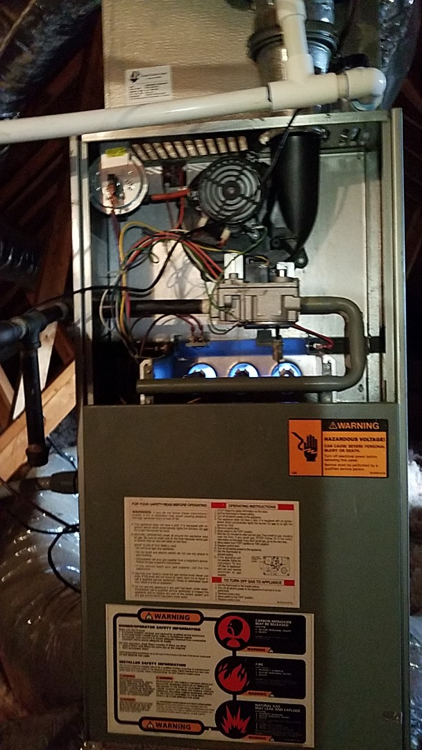 Roswell, GA - Fixing heating issues on a furnace in Alpharetta
