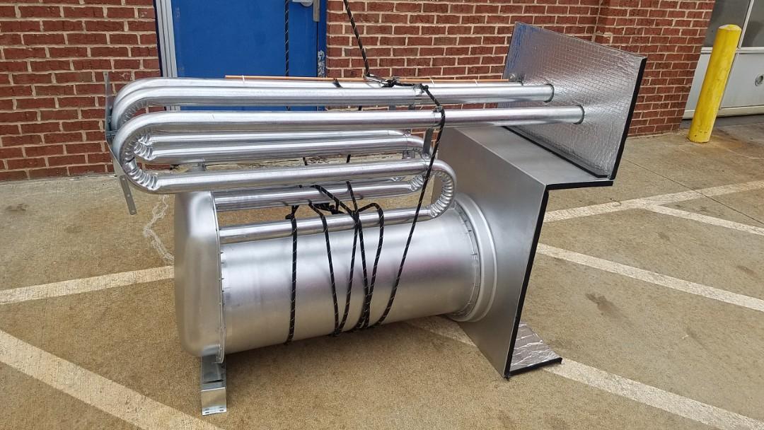 Cumming, GA - Install heat exchanger
