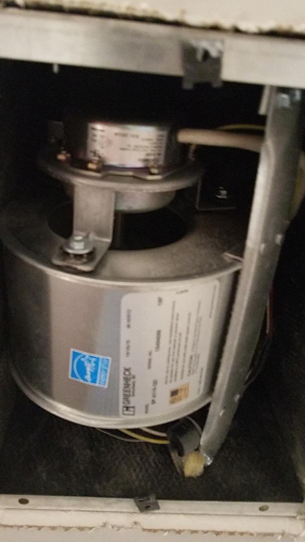 Lawrenceville, GA - Preventative maintenance on exhaust fan in Lawrenceville