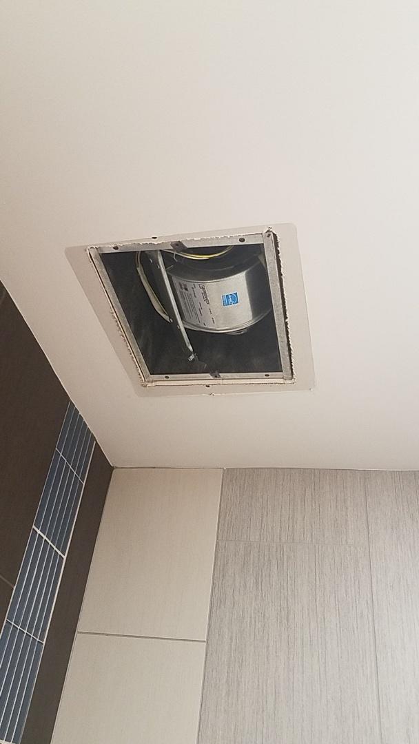 Lawrenceville, GA - Checking bathroom exhaust fan/ maintenance  in Lawrenceville