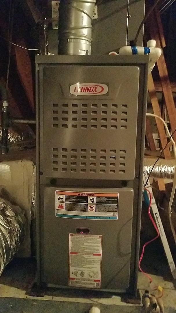 Peachtree City, GA - Residential heat pma. Gas furnace.