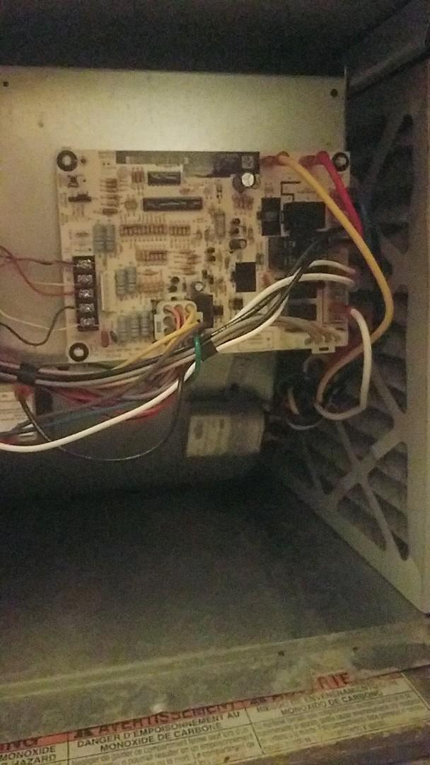 Union City, GA - Replacing a circuit board on a gas furnace