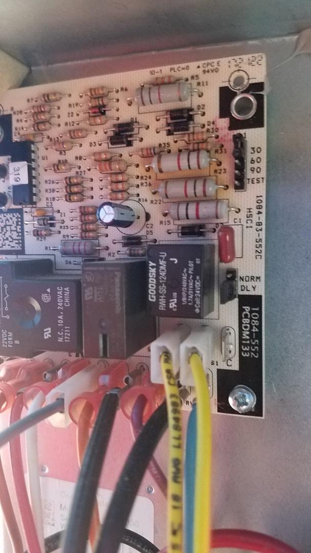 Tucker, GA - Heat not working,  defrost board with sensor replacement
