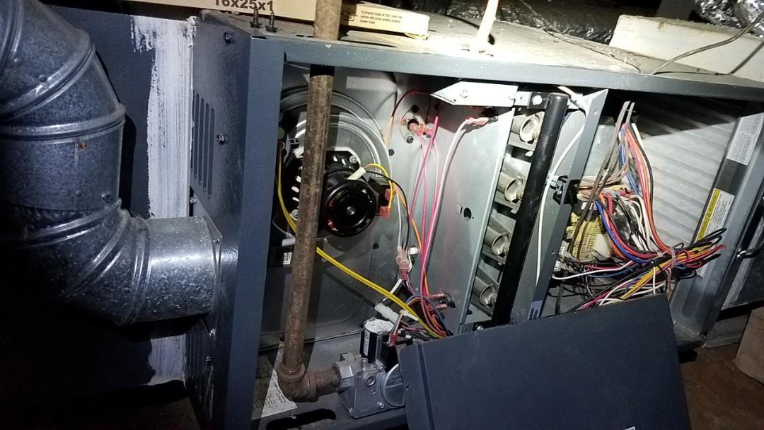 Douglasville, GA - Heat not working, inducer draft motor replacement