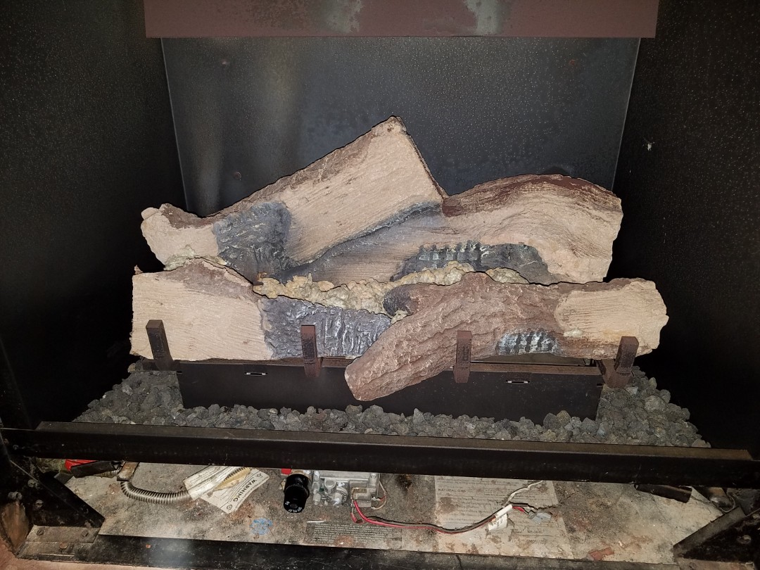 Worked on some gas logs
