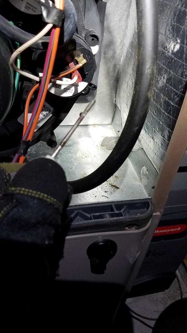 Canton, GA - Heat not working,  flame sensor replacement