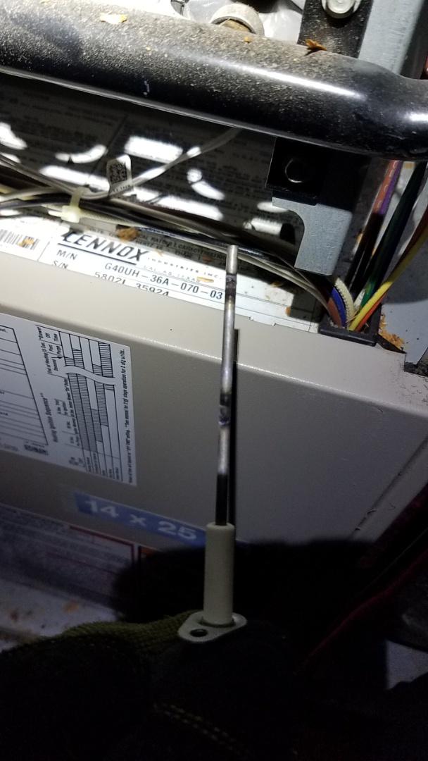 Alpharetta, GA - Heat not working,  flame sensor cleaning