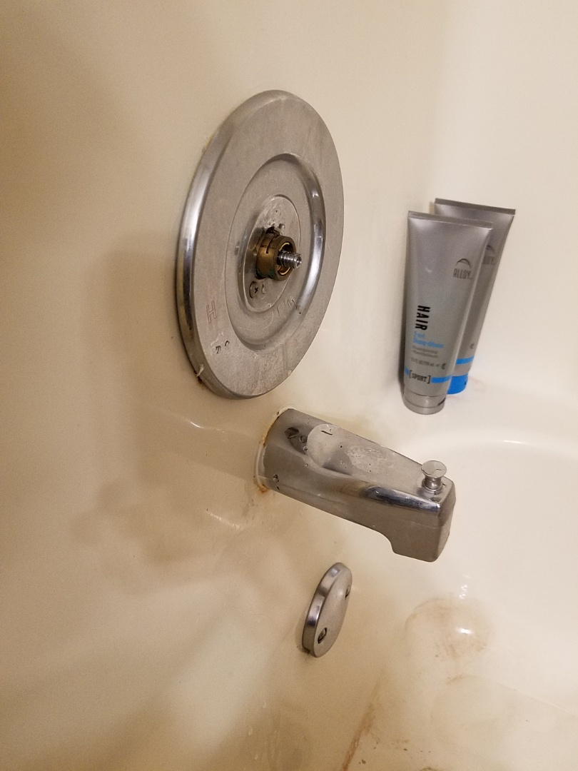 Duluth, GA - Rebuilt a Moen tub and shower valve