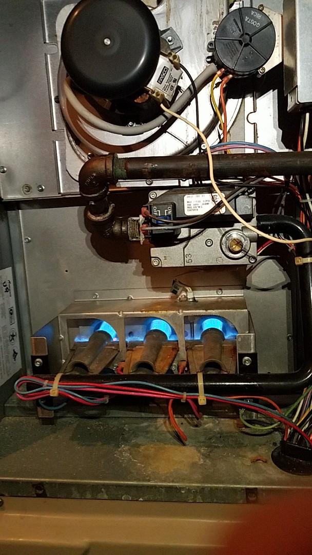 Alpharetta, GA - Heat check up in milton