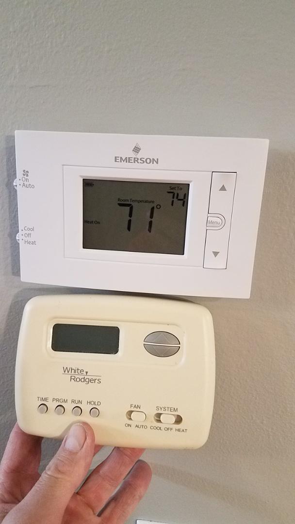 Atlanta, GA - Heat not working,  thermostat replacement
