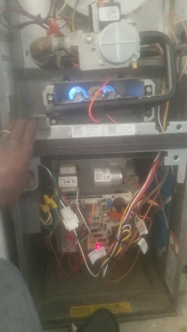 Decatur, GA - 1 hvac system maintenance in progress