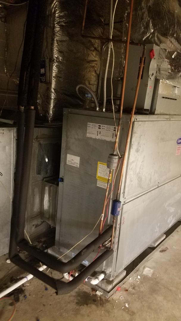 Atlanta, GA - Replaced leaking evaporator coil