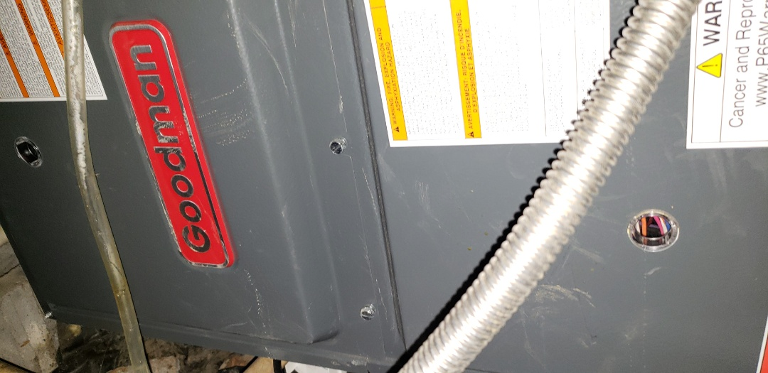 Duluth, GA - Preventative maintenance on 1 Goodman gas furnace heat check