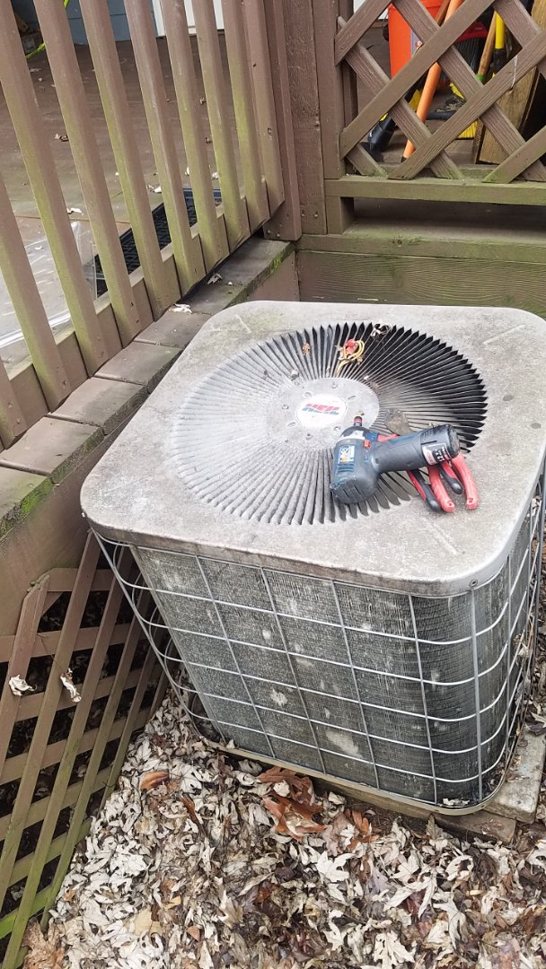Marietta, GA - Replaced bad condenser fan motor