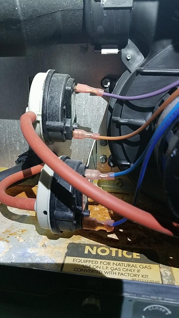 Atlanta, GA - Heat not working, pressure switch replacement