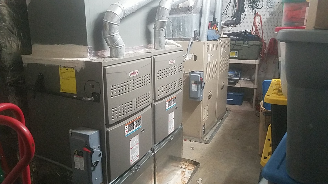 Fayetteville, GA - Working on commercial, Lennox gas furnaces