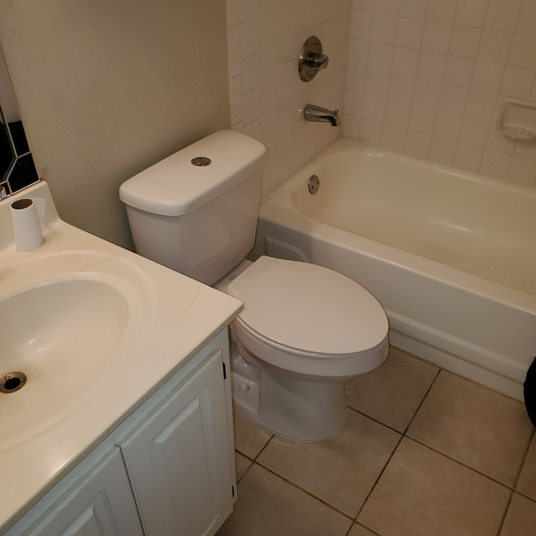 Installed 2 new toilets