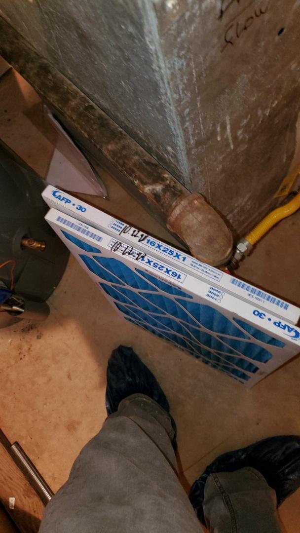 2 hvac system maintenance completed