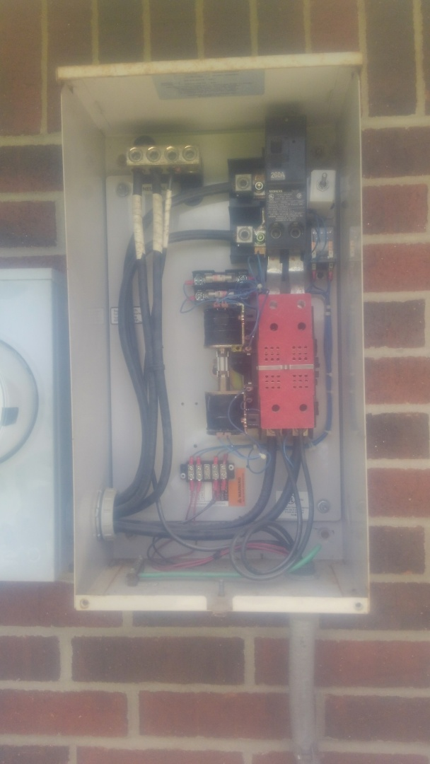 Eunice, LA - Did cooling tune up and generator maintenance.