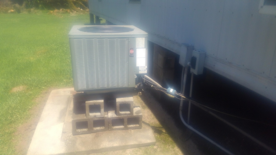 Port Barre, LA - Did service call on ruud system and added frenon.