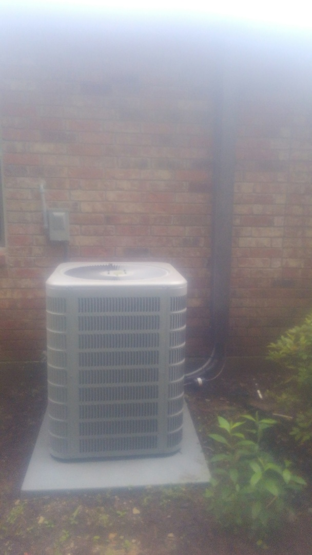 Did service call on Aire Flo system and repair loose connection.