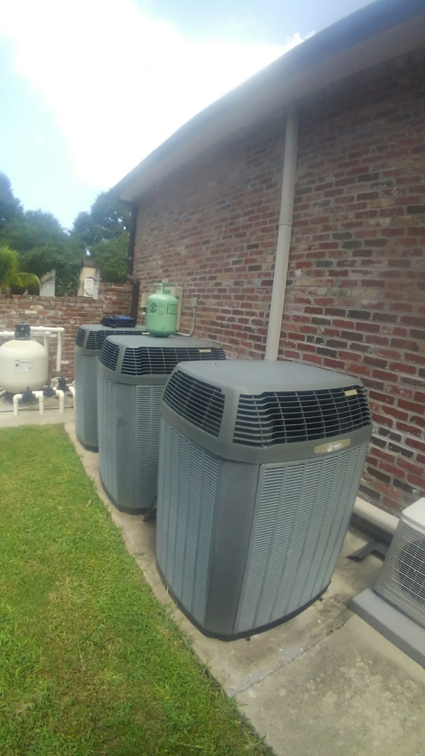 Eunice, LA - Did cooling tune up on trand system and added frenon.