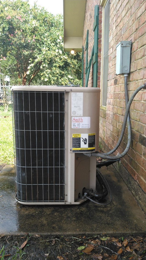 Did service call on Lennox system and washed unit.
