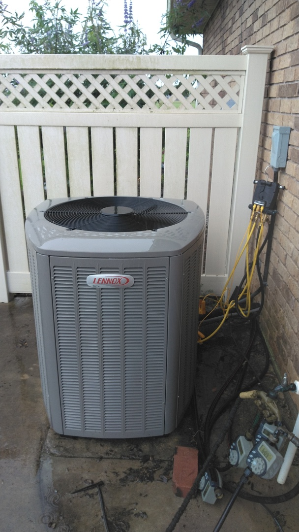 Did service call call on Lennox system.