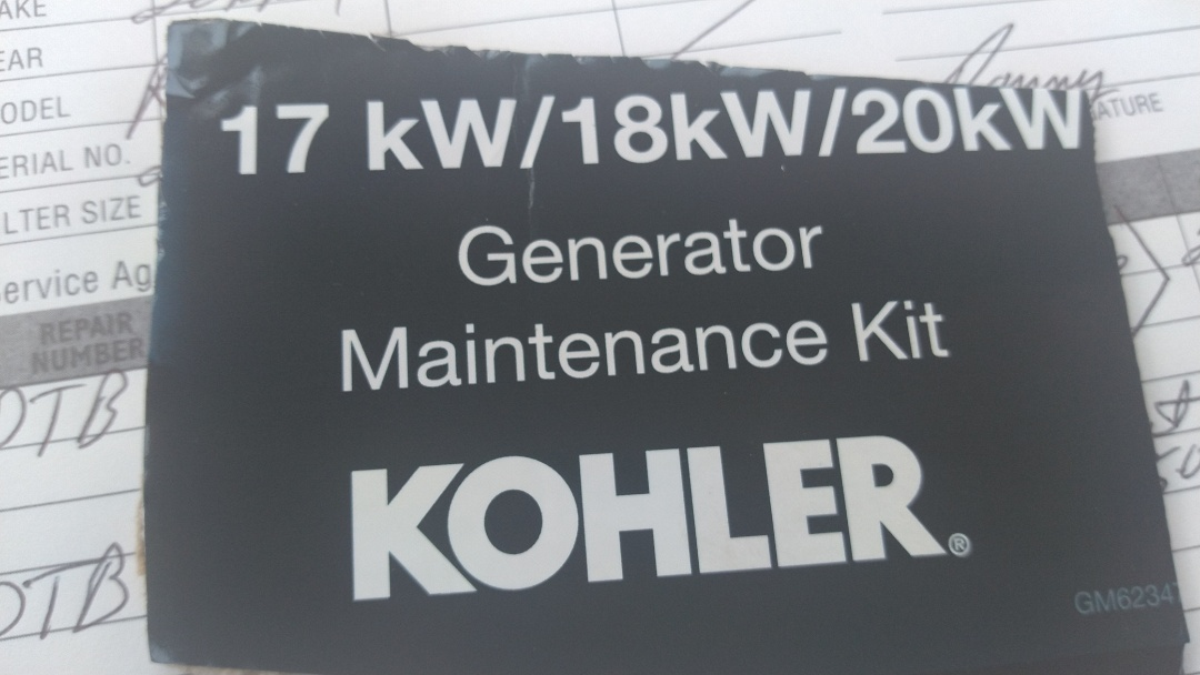 Scott, LA - Did yearly generator service.