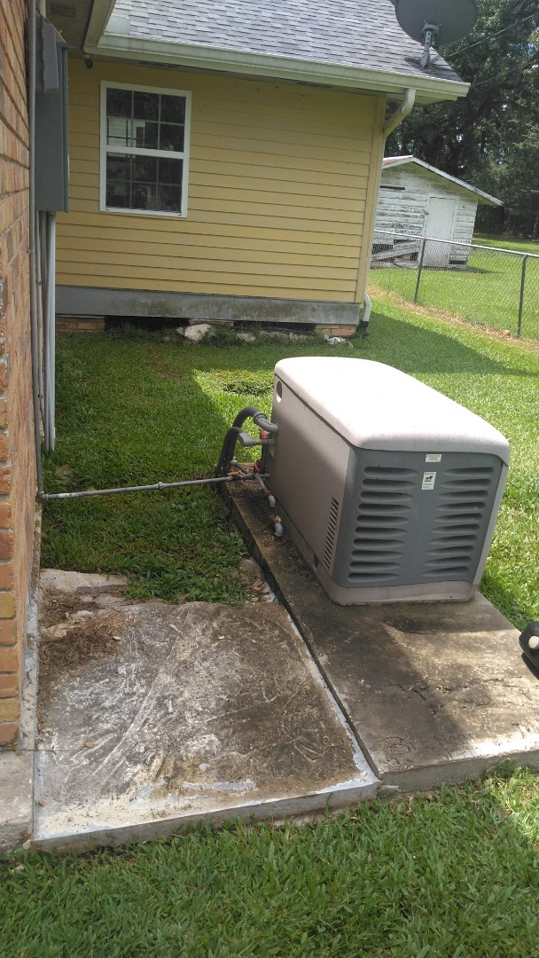 Did yearly generator maintenance.