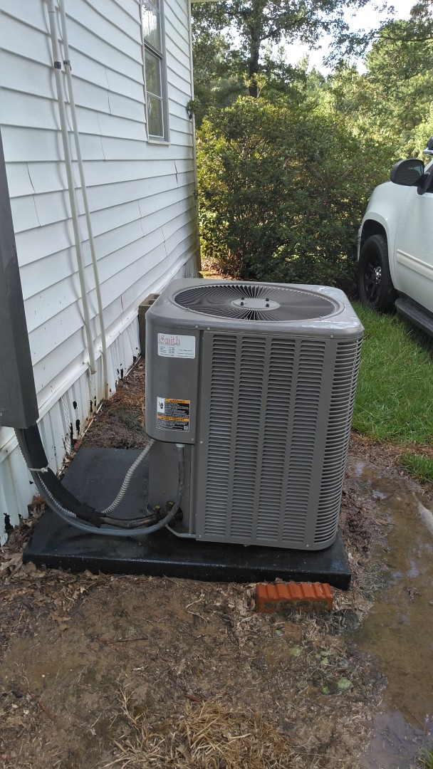Saint Landry, LA - Did cooling tune up on Lennox system and added frenon and replace filter.