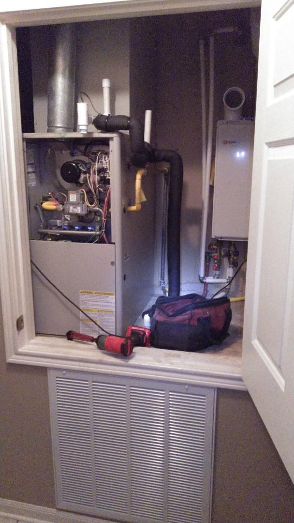 Eunice, LA - Did heating tune up on Frigidaire unit.