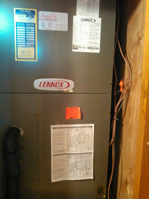 Arnaudville, LA - Did heating check up on Lennox unit .