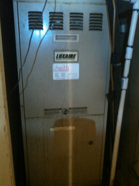 Oakdale, LA - Did heating tune up on luxaire gas heater unit.