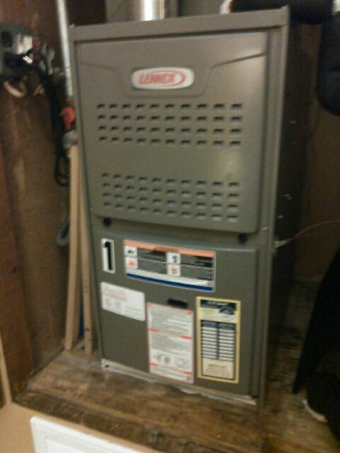 Mamou, LA - Did heating tune up on Lennox heater unit and replace filter.