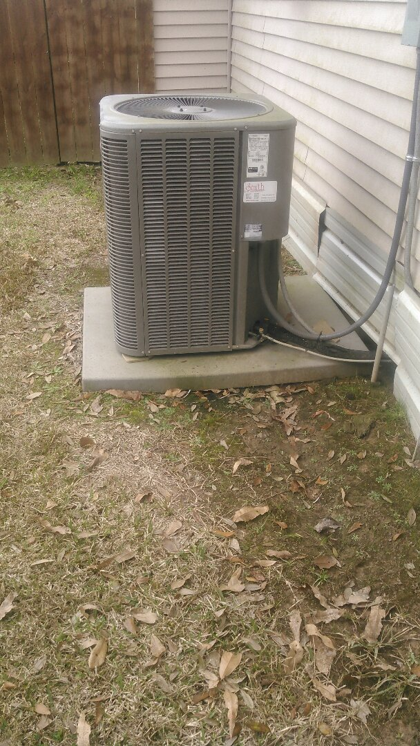 Basile, LA - Did service call on Lennox unit and reset defrost control board and set dehum settings to 50 percent.