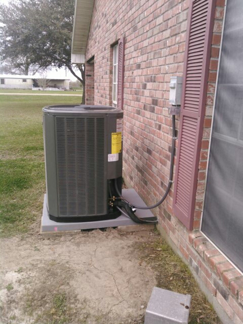 Rayne, LA - Did service call on trand unit and installed surge protector;s and check complete system.