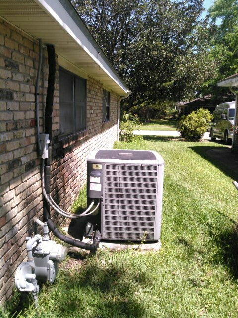 Lafayette, LA - Did service call on Amana cooling system and replace rubber tex.