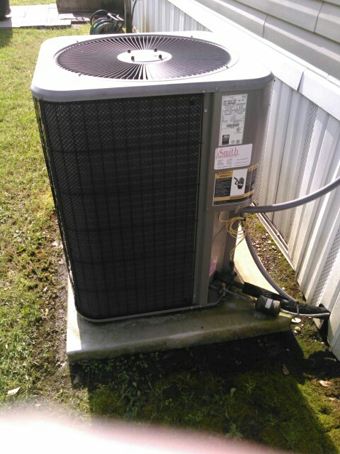 Sunset, LA - Did cooling tune up on Lennox unit and added Freon.