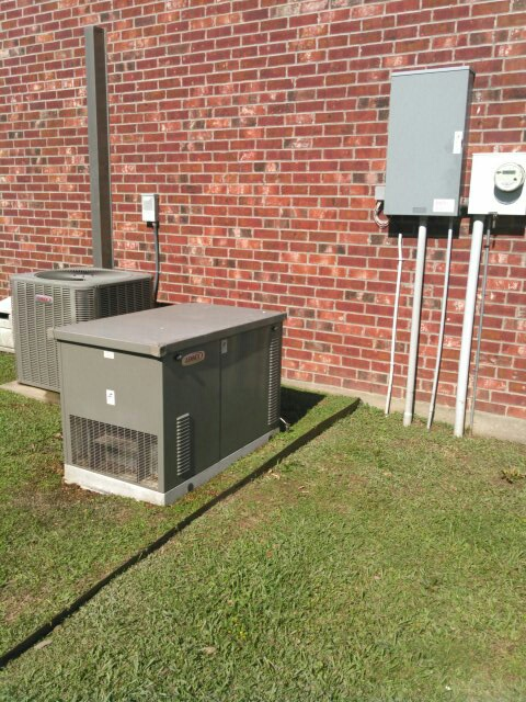 Mamou, LA - Did cooling tune up on Lennox unit and Lennox generator and replace filter.