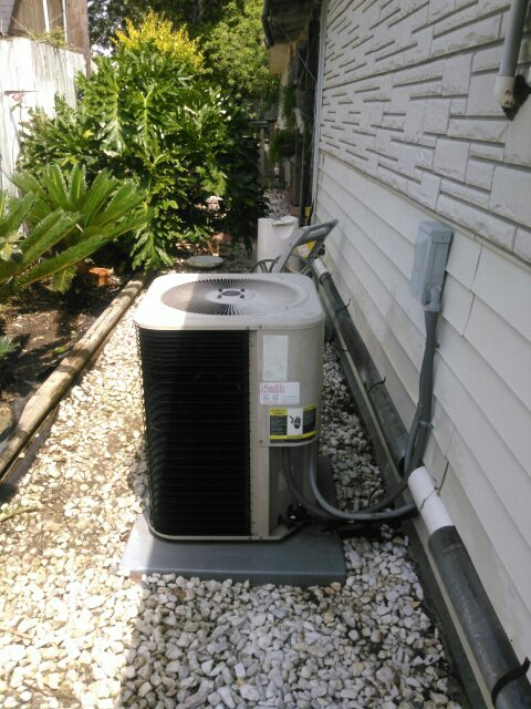 Church Point, LA - Did cooling tune up on Lennox unit and replace filter.