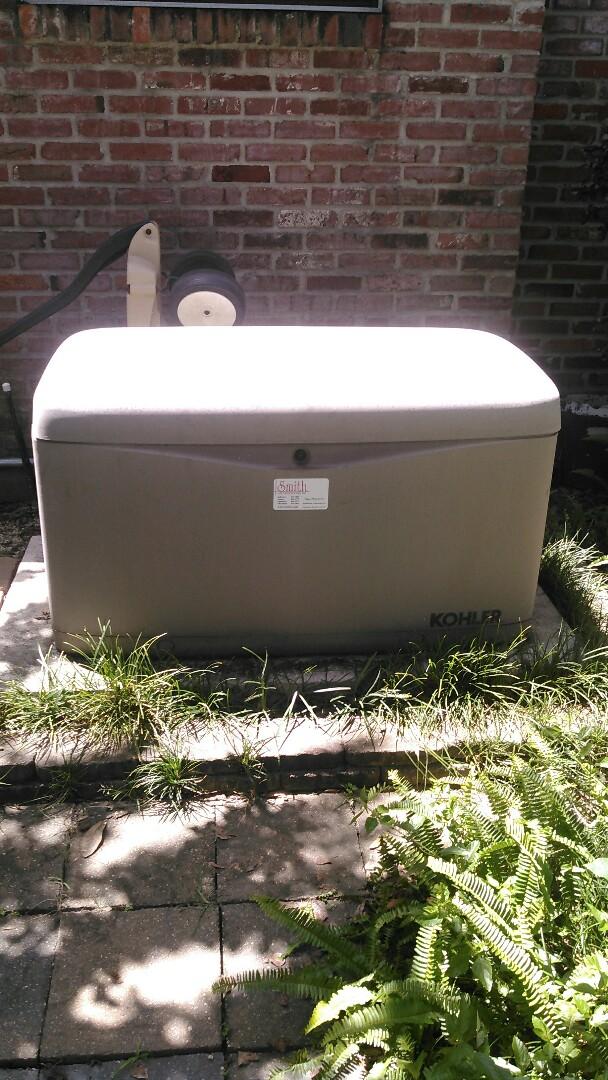 Lafayette, LA - Did yearly maintenance on Kohler generator.